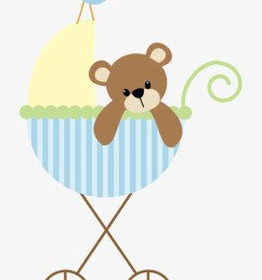 baby shower clipart clipart baby baby shower printables green baby bear twin duvet [ 820 x 1208 Pixel ]