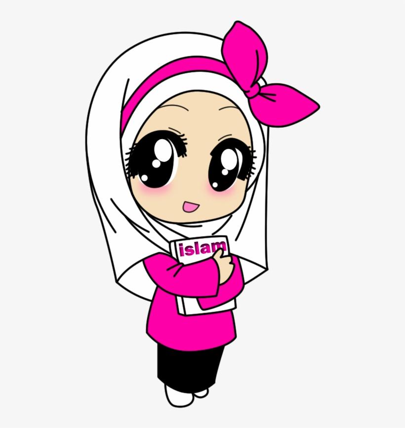 Unduh 3000+ Wallpaper Animasi Wanita Hijab  Paling Baru
