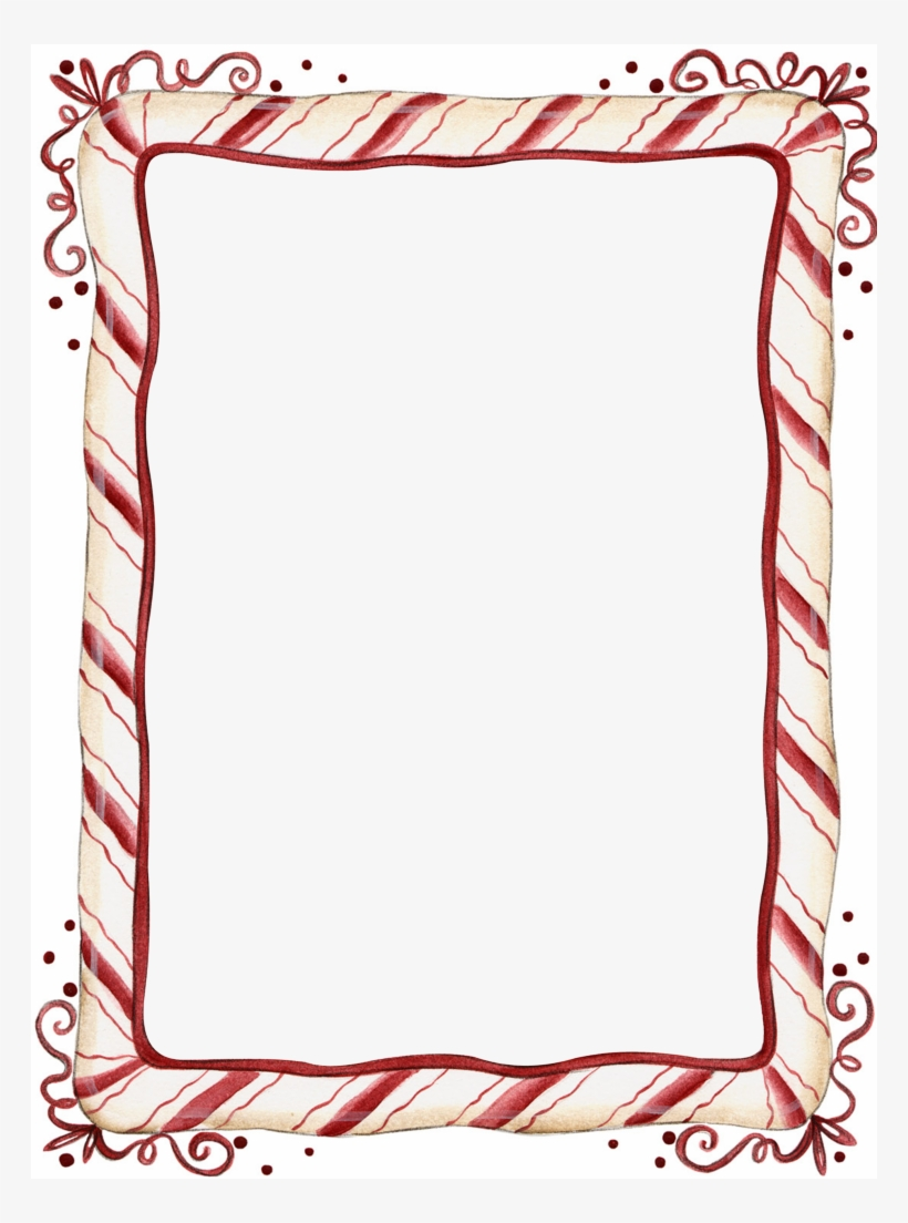 hight resolution of candy cane christmas border clip art