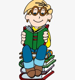 boy reading on stack of books clipart clipartfest boy reading book clipart png [ 820 x 980 Pixel ]