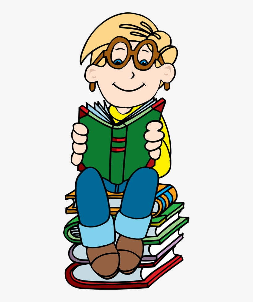 hight resolution of boy reading on stack of books clipart clipartfest boy reading book clipart png