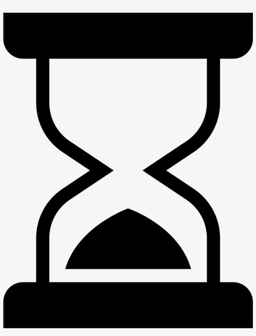 small resolution of hourglass half icons hourglass clipart png
