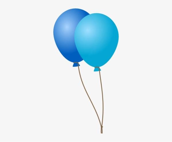 navy clipart balloon - blue balloons