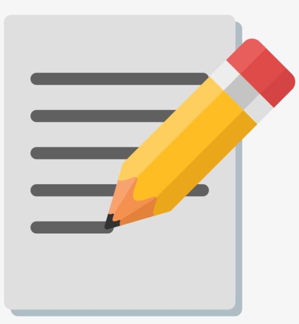 Essay Clipart Chart Paper Frames Illustrations