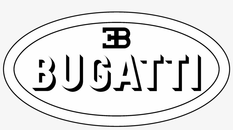 bugatti logo black and