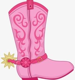 boot hat n clip pink cowboy boot clipart [ 820 x 991 Pixel ]