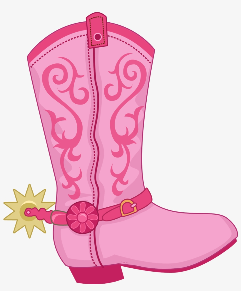 medium resolution of boot hat n clip pink cowboy boot clipart