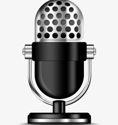 radio station microphone png transparent microphone clipart png [ 820 x 978 Pixel ]