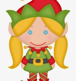elves of the helping santa clip art female christmas elf clipart [ 820 x 1155 Pixel ]