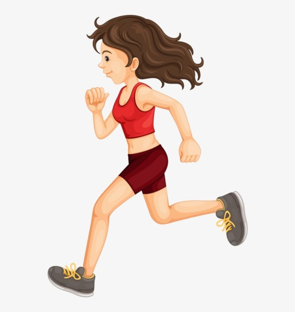 Clipart Girl Exercise - Exercising Free