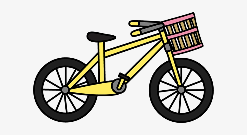 colorful clipart bicycle ride