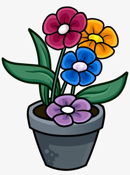 small resolution of flowerpots clipart plant pot flower pot drawing in colour