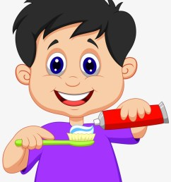 tooth brushing brush your teeth clipart [ 820 x 1097 Pixel ]