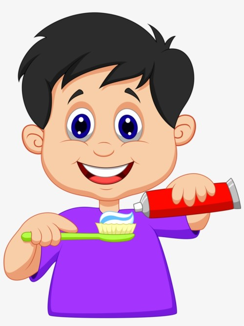 small resolution of tooth brushing brush your teeth clipart