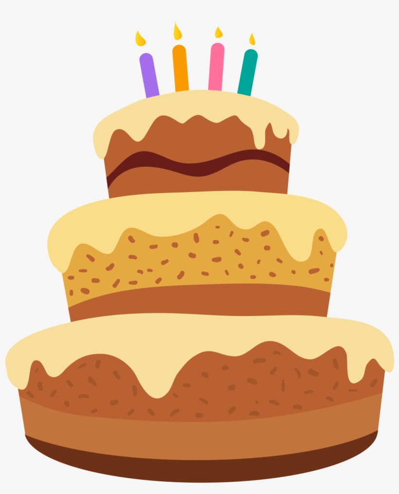 Cartoon Cake Png Happy Birthday Cake Cartoon Free Transparent