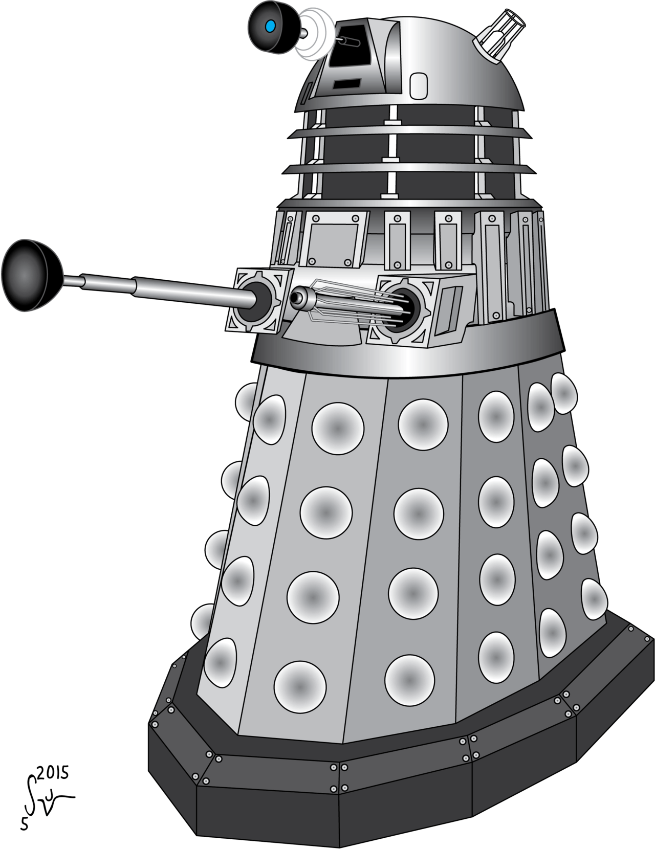 hight resolution of doctor who clipart dalek dr who dalek png 1280x1660 png download