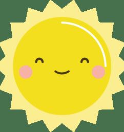 free kawaii sun clip art kawaii sun clipart 2550x2663  [ 2458 x 2421 Pixel ]