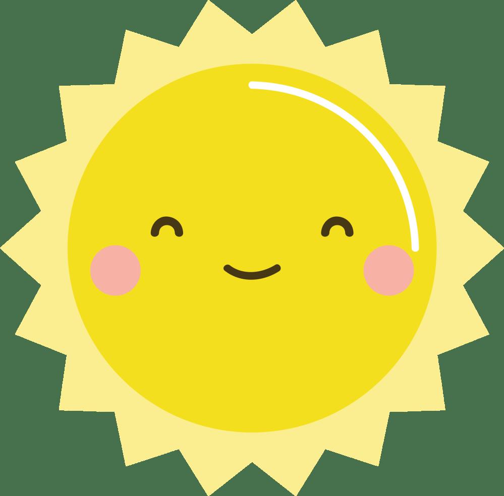medium resolution of free kawaii sun clip art kawaii sun clipart 2550x2663