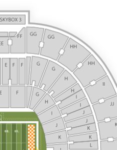 Neyland stadium seating chart  download also image with no background rh key
