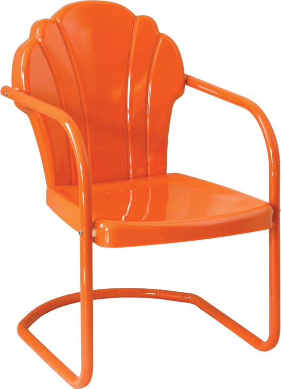 download retro metal lawn chairs png