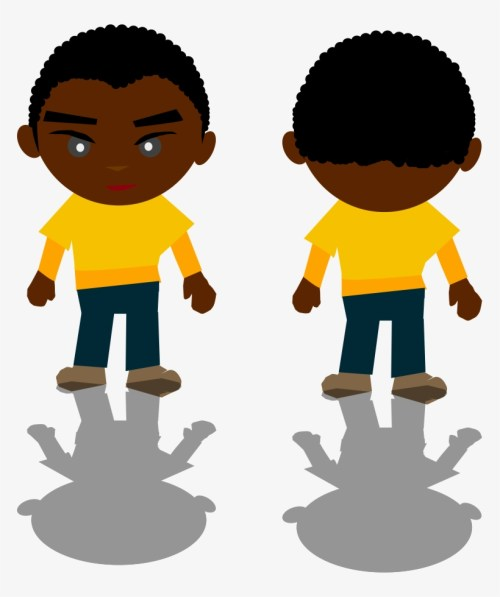 small resolution of african american family clipart 5 buy clip art cartoon black boy