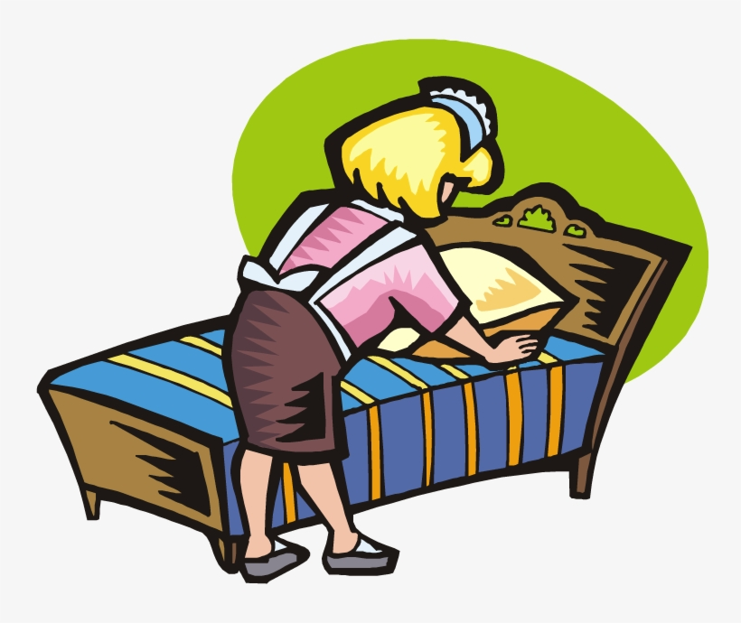 pillow clipart bed making bed making
