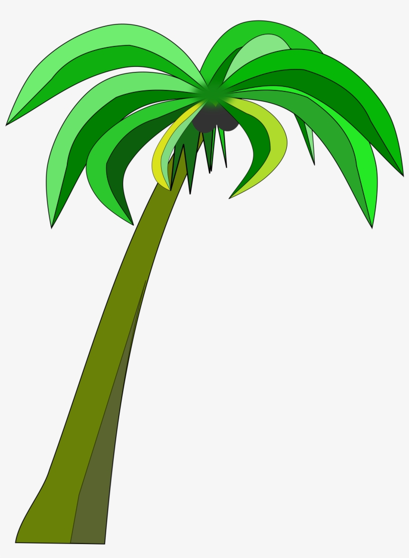 hight resolution of palm or coconut tree clipart black and white download coconut palm tree clipart