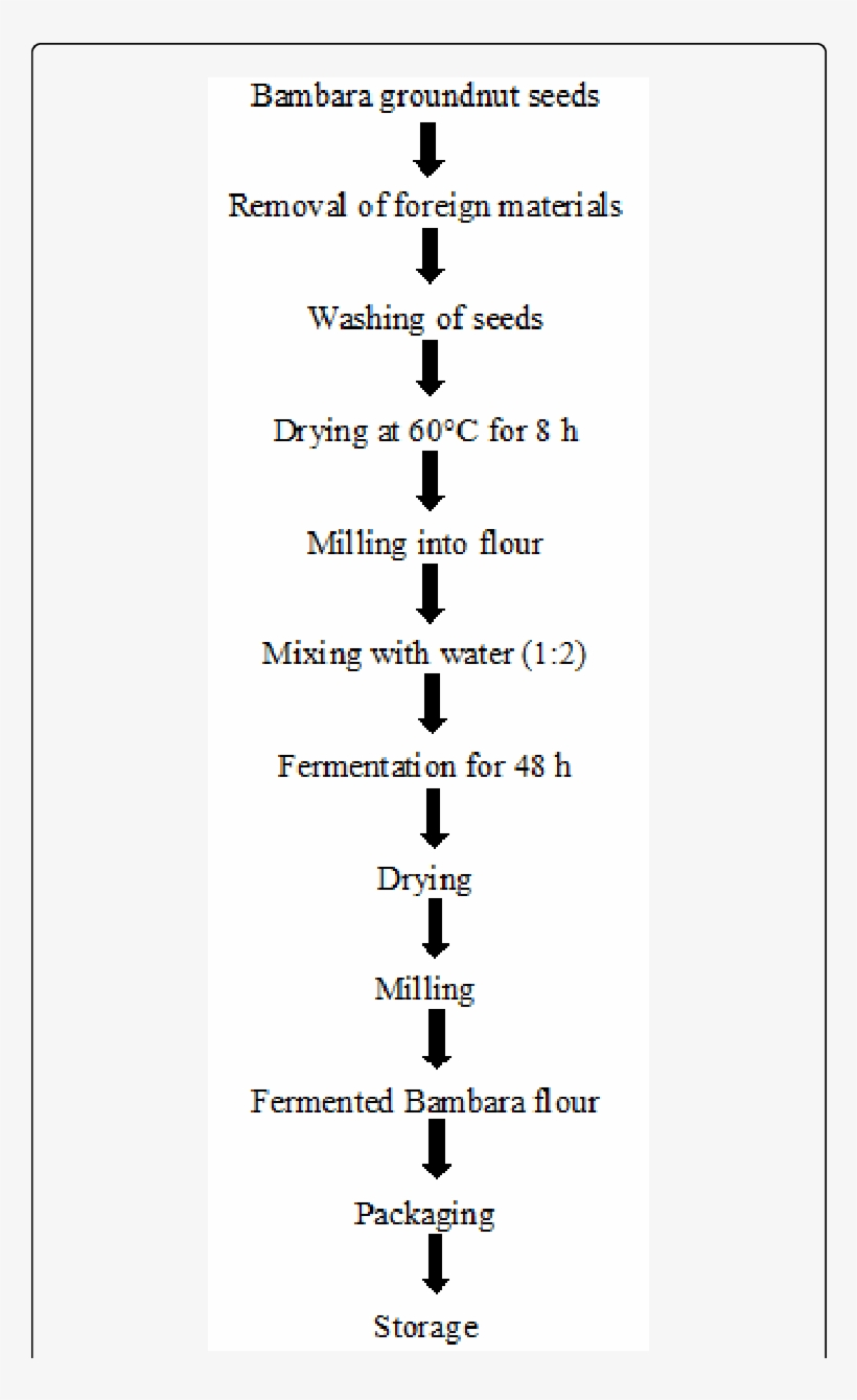 Process Flow Chart For The Production Of Fermented