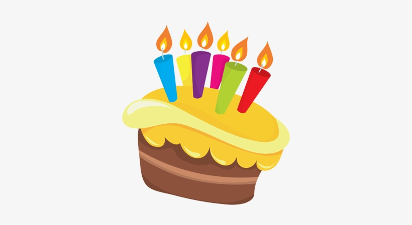 Birthday Cake Png Image Cartoon Birthday Cake 347x390 Png