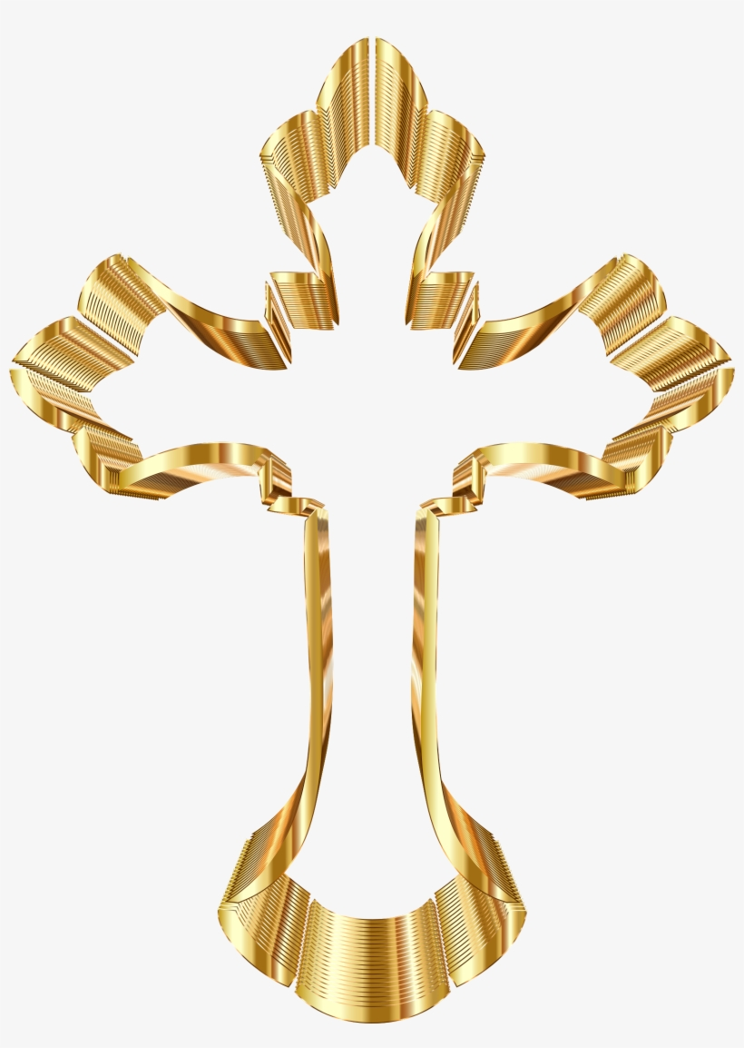 medium resolution of 28 collection of catholic cross clipart gold catholic cross no background