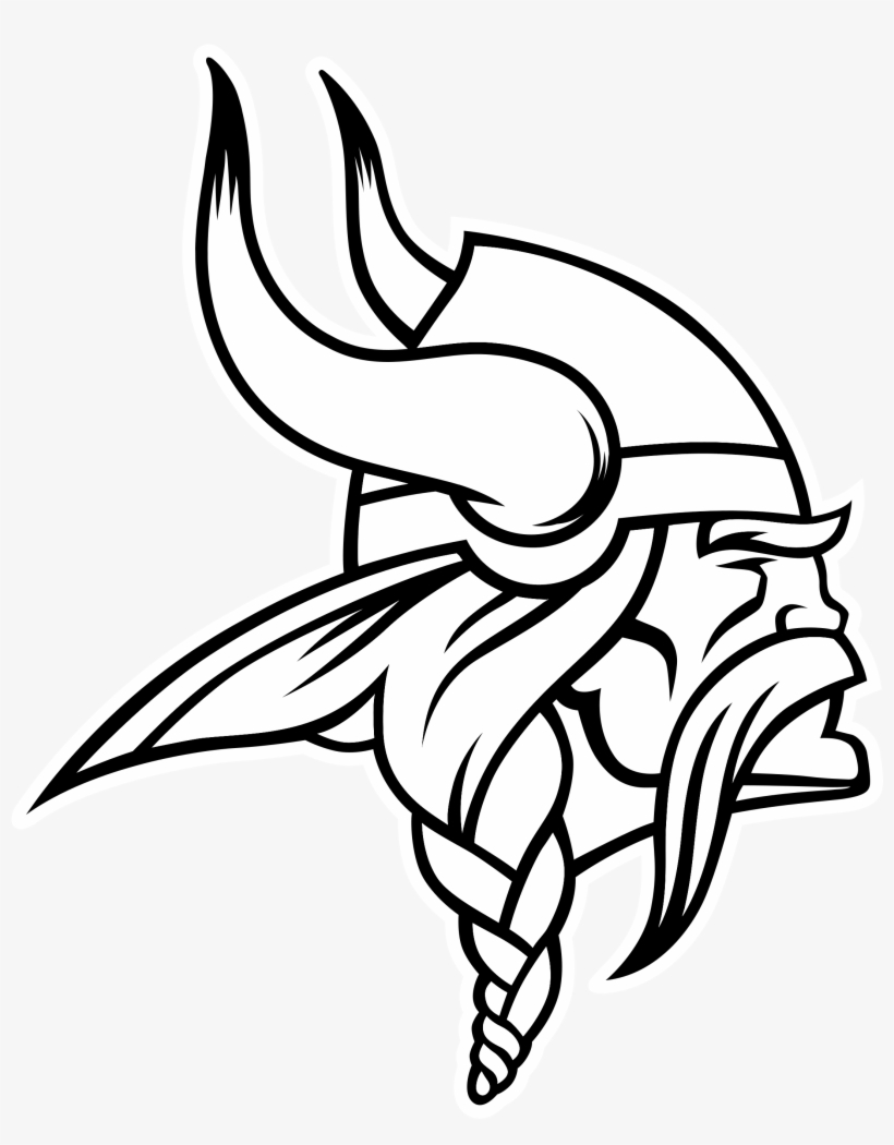 medium resolution of minnesota vikings nfl chicago bears american football minnesota vikings logo black and white
