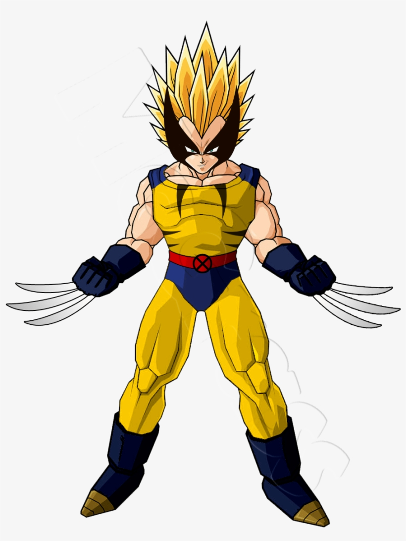 wolverine and goku fusion