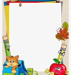 school clipart border design borders and frames for school [ 820 x 1104 Pixel ]