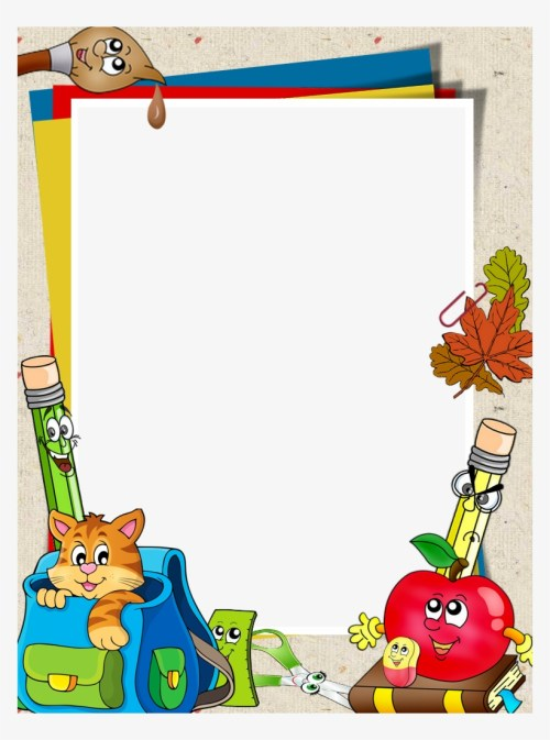 small resolution of school clipart border design borders and frames for school