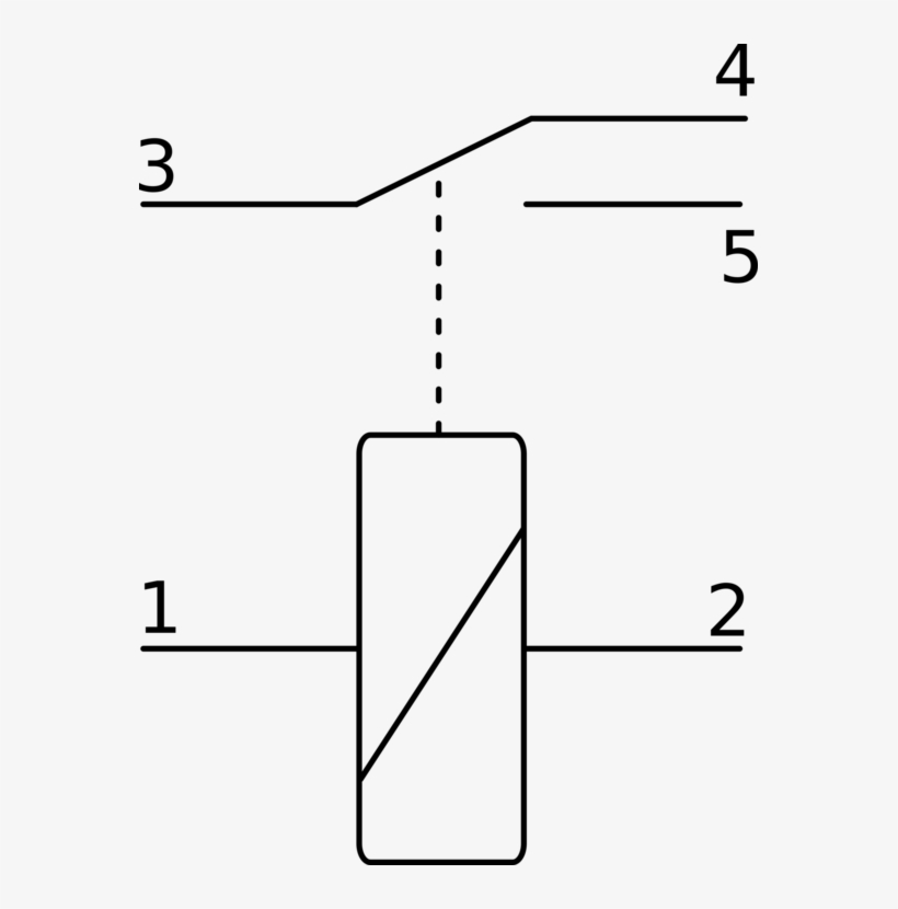 Relay Schematic Symbol / Electrical Switches Electronic