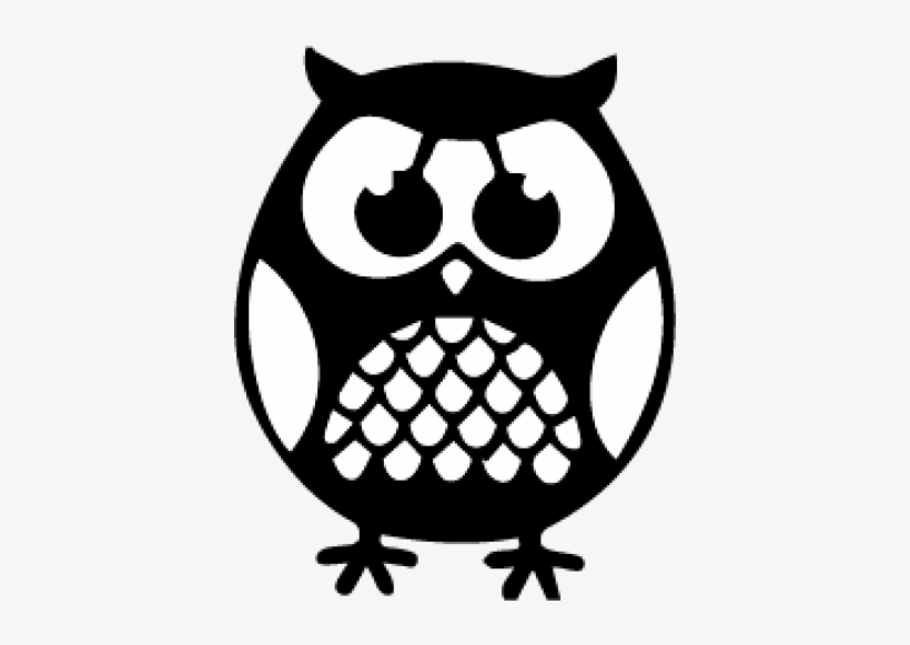 Download Silhouette Cricut Owl Svg - 500x500 PNG Download - PNGkit
