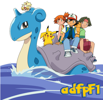 Download Ash Misty Tracey Y Pokemon 01 By Adfpf1 Misty Ash Brock Tracey Full Size Png Image Pngkit