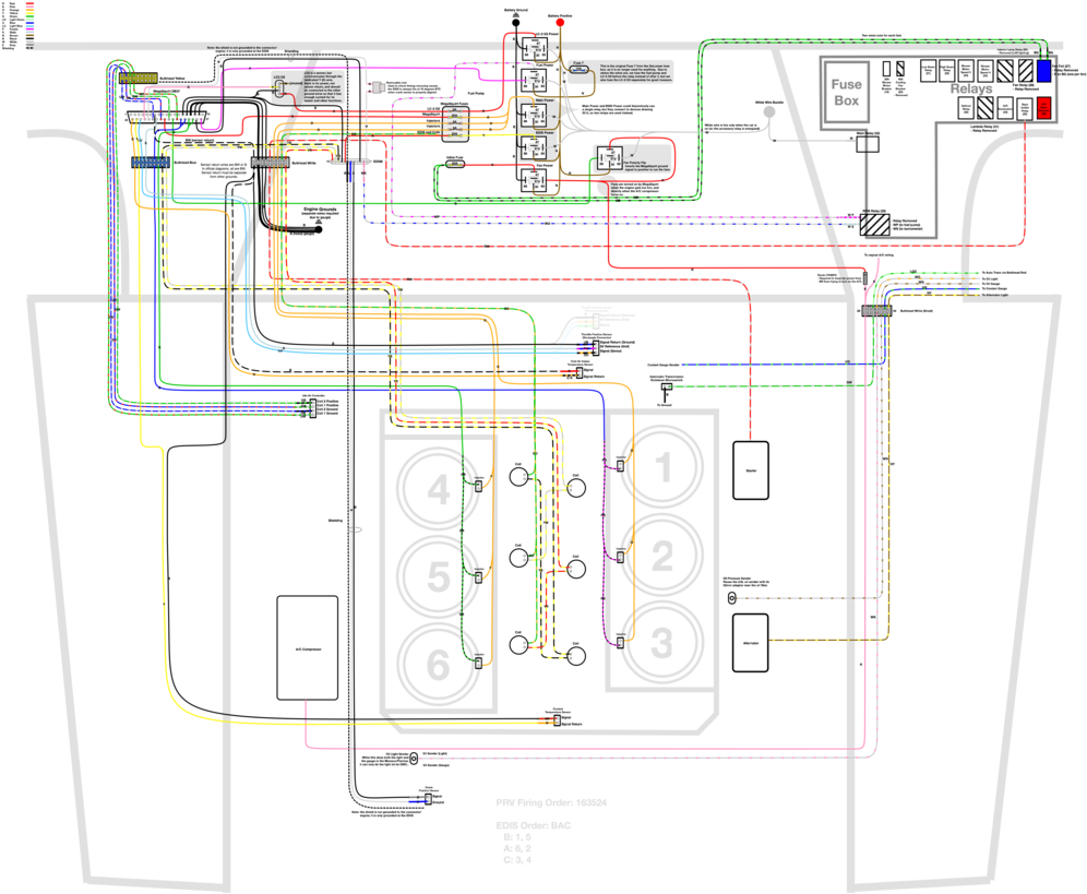 medium resolution of delorean efi wiring amp research step wiring diagram 1000x829 png download