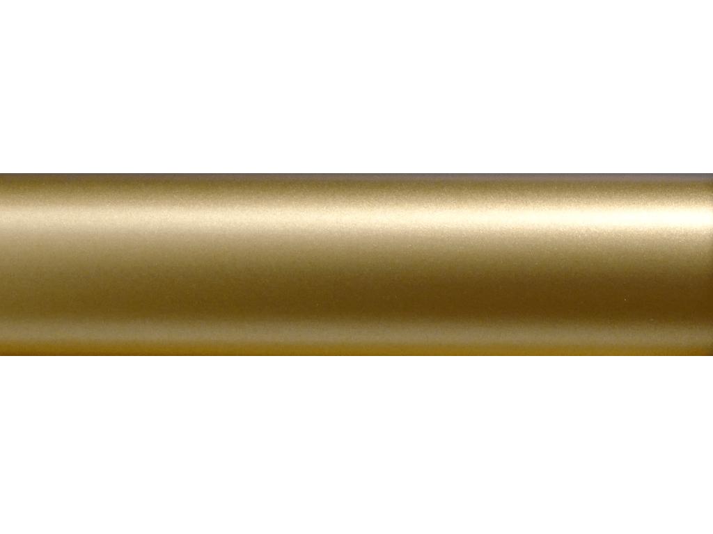 metallic soft gold curtain rod