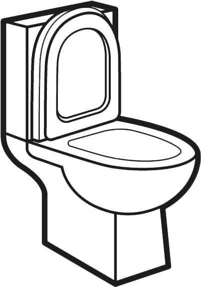 Download Bathroom Clipart Water Closet Toilet Full Size Png Image Pngkit