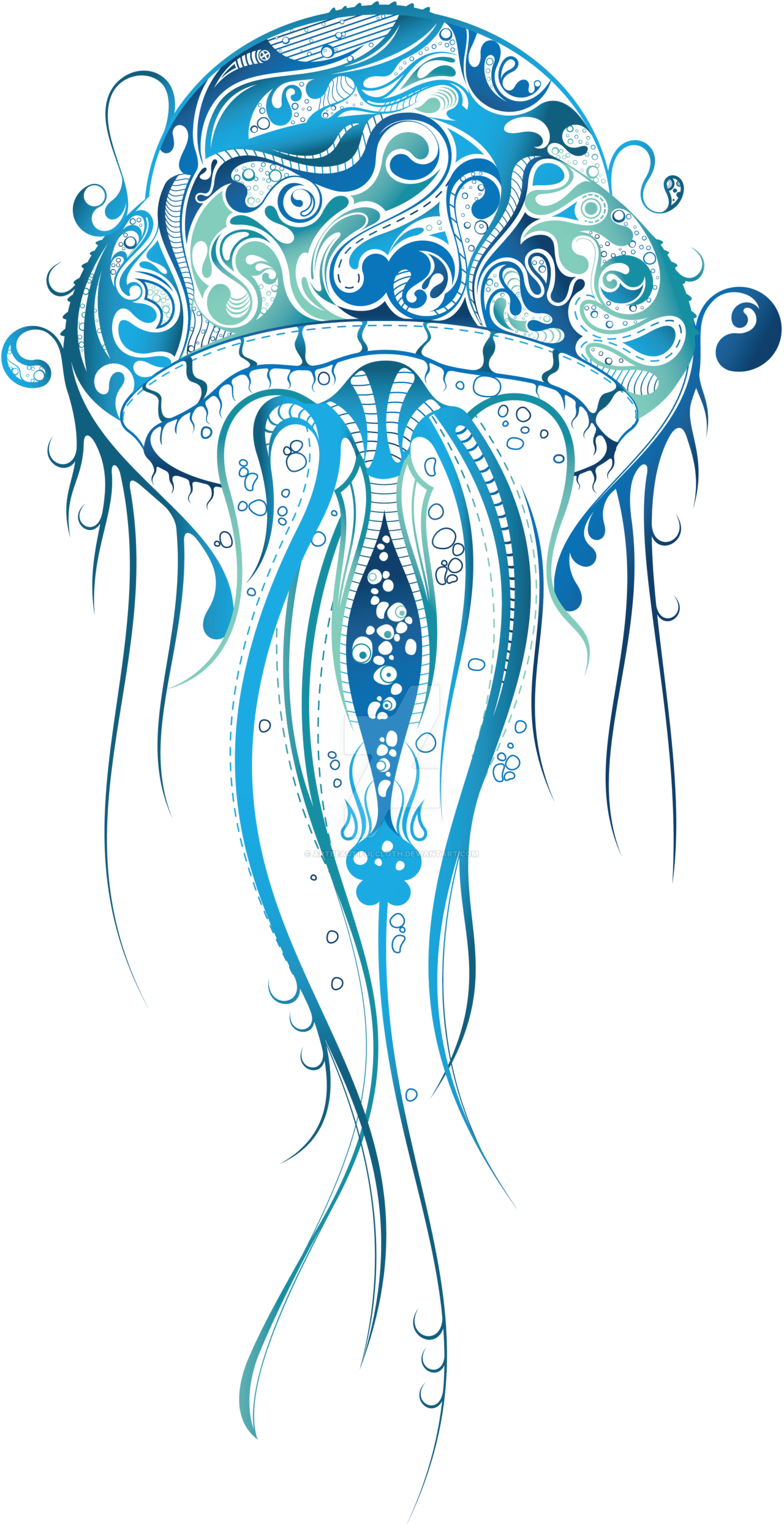 hight resolution of jellyfish png clipart