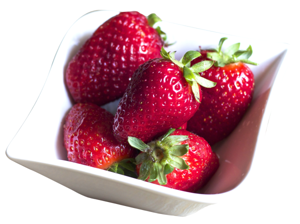 Bowl Filled with Fresh Strawberries PNG image PngPix