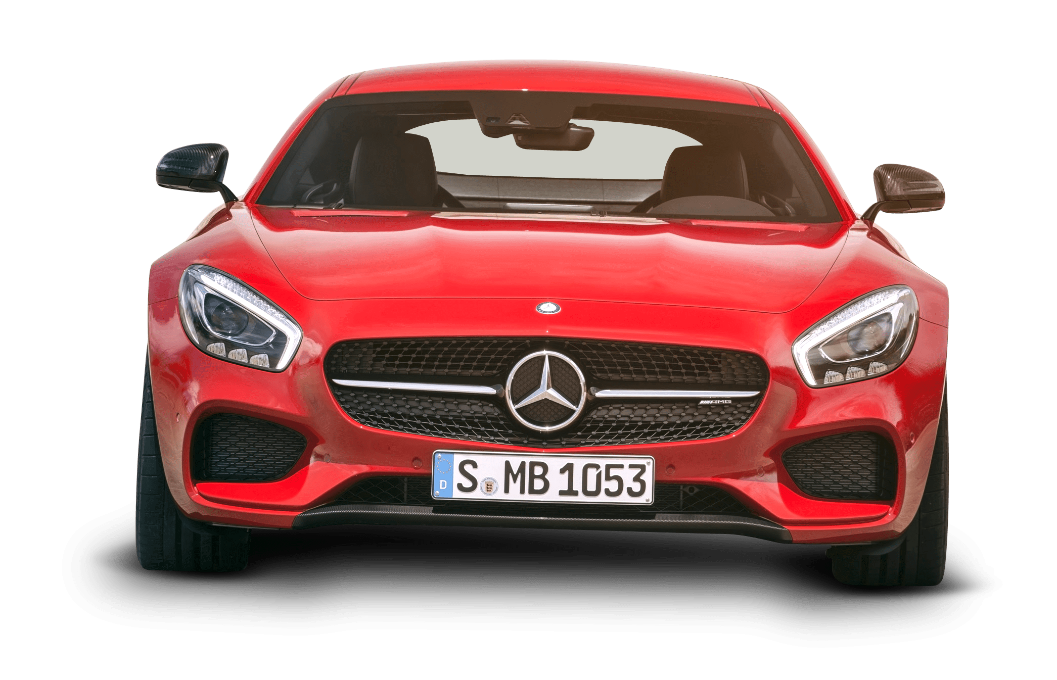 Mercedes AMG GT Red Car Front PNG Image PngPix
