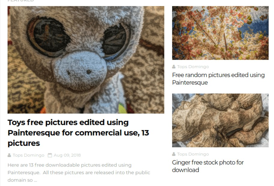 Top 39 Public Domain Image Resource Websites