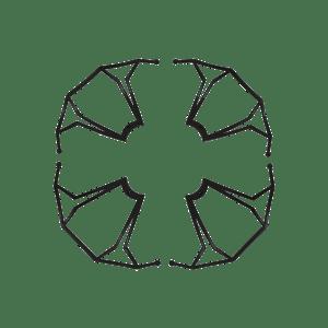 Lot de 4 protections d'hélice pour MERKURY