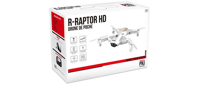 Inclus dans le pack : 1X R-Raptor HD 2X Batterie…