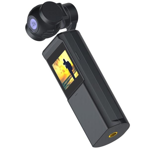 Caméra 4K PNJ POCKET avec stabilisation 3 axes intégrée et écran tactile