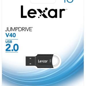 clé USB 16GO JumpDrive V40 Lexar 2.0 noire