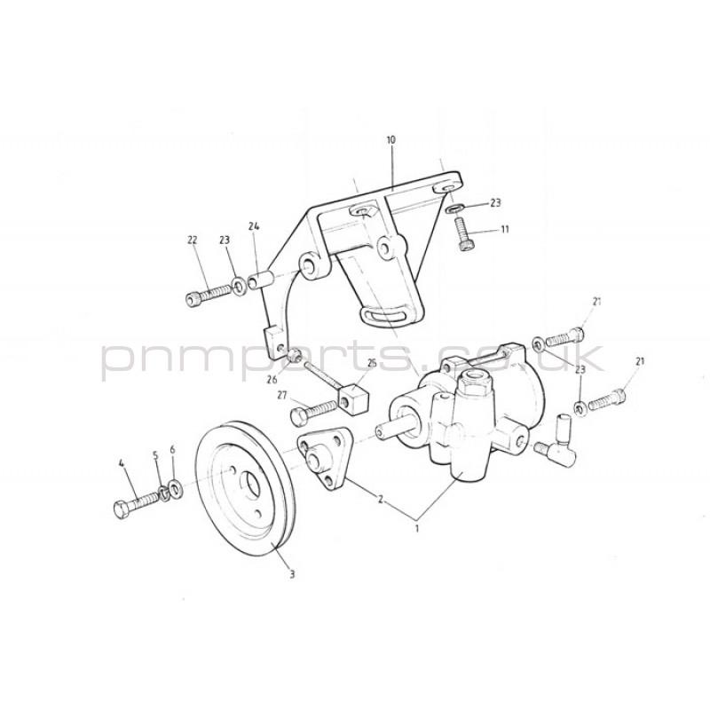A910E7022F Esprit S4 Power Steering Pump