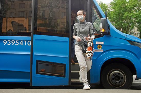 В Роспотребнадзоре назвали способы уберечься от COVID-19 в общественном транспорте